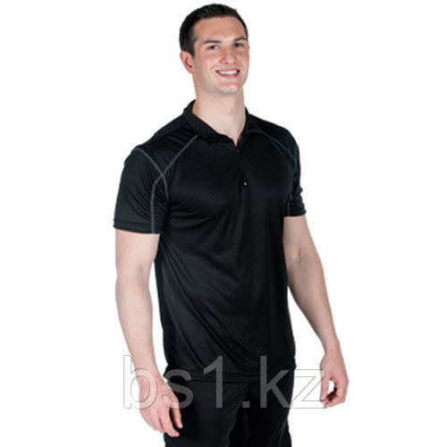 Спортивная майка Microtech™ Loose Fit 1/4 Zip Polo Shirt