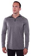 Heather Gray 1/4 Zip Shirt