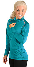 Full HEATR® Long Sleeve 1/4 Zip Shirt