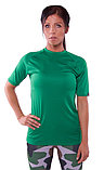 Microtech™ Women's Loose Fit Short Sleeve V-Neck Shirt, фото 2