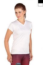Спортивная майка Microtech™ Women's Loose Fit Short Sleeve V-Neck Shirt