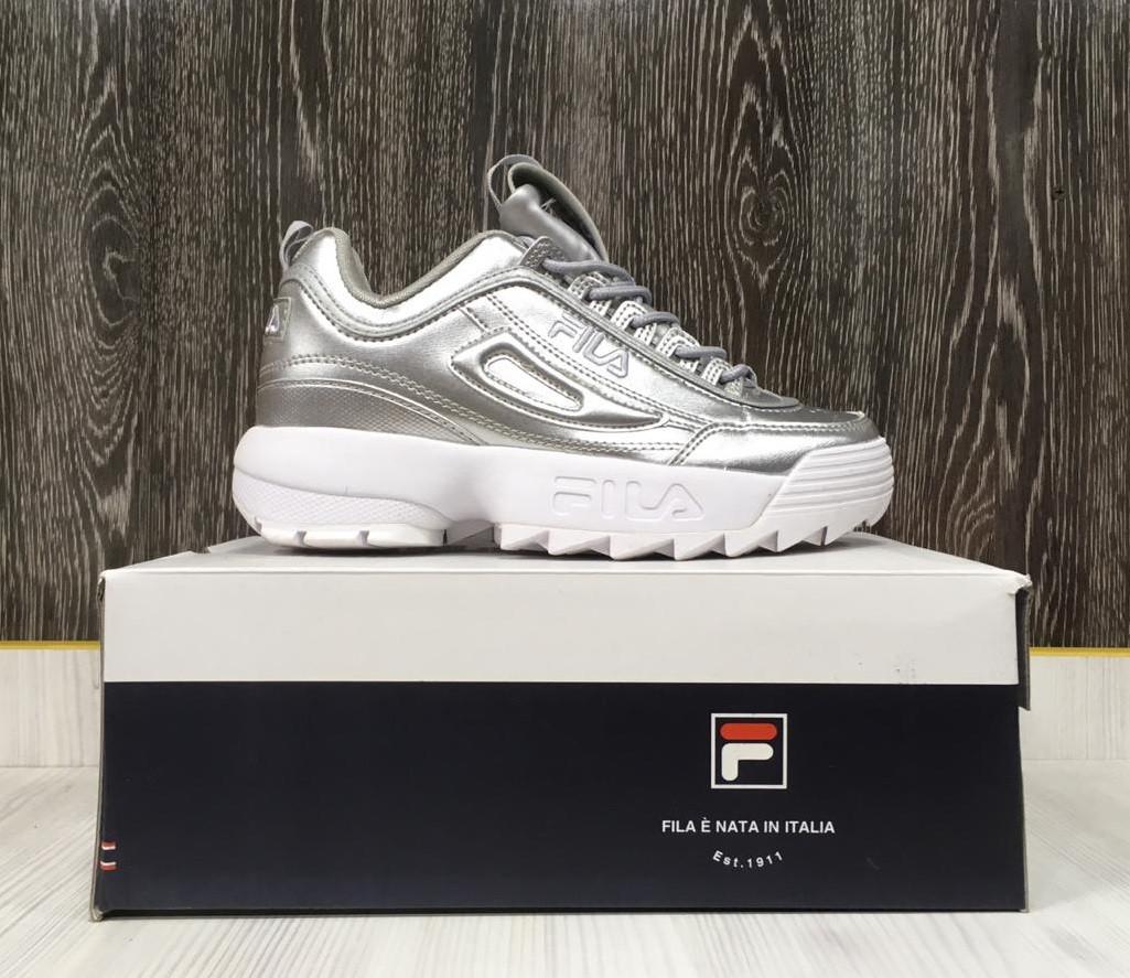 Кроссовки Fila Disruptor (Silver)