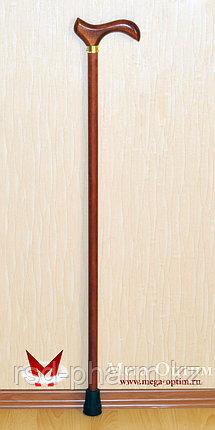 Деревянная трость с деревянной ручкой и УПС (75, 80, 85, 90, 95 см), фото 2
