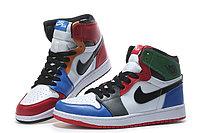 """Кожаные кроссовки Air Jordan 1 Retro """"Multicolor"""" (36-46), фото 3"""