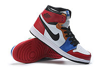 """Кожаные кроссовки Air Jordan 1 Retro """"Multicolor"""" (36-46), фото 4"""