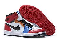 """Кожаные кроссовки Air Jordan 1 Retro """"Multicolor"""" (36-46), фото 2"""