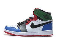 """Кожаные кроссовки Air Jordan 1 Retro """"Multicolor"""" (36-46), фото 5"""