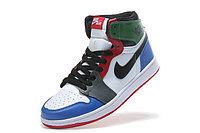 """Кожаные кроссовки Air Jordan 1 Retro """"Multicolor"""" (36-46), фото 7"""