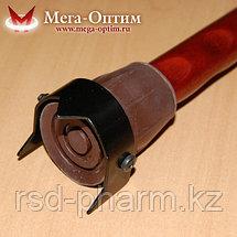 """Телескопическая трость с пластиковой ручкой ручкой и УПС """"Антилед"""", фото 2"""