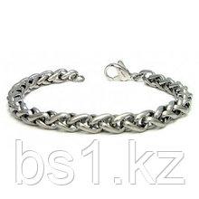 Titanium 7MM Wheat Link Bracelet