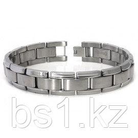 Titanium Men's Two Tone Bracelet