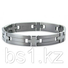 Titanium Men's Bracelet w/ Cross Designs