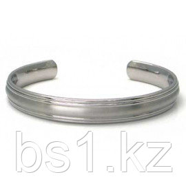 Titanium 10MM Two Tone Cuff Bangle