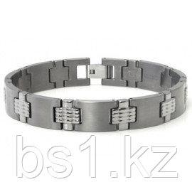 Titanium Men's Bracelet w/ Mesh Designs