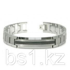 Tungsten Carbide Carbon Fiber ID Men's Bracelet