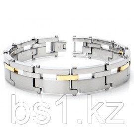 Dolan Bullock MELBOURNE Steel & 18K Gold Bracelet