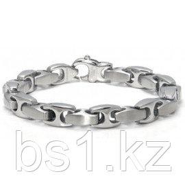 Stainless Steel Link Two-Tone Finish Men's Bracelet