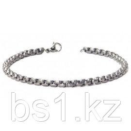 Titanium 4MM Box Link Bracelet