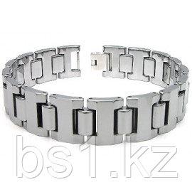 GLADIATER Tungsten Carbide Men's Link Bracelet