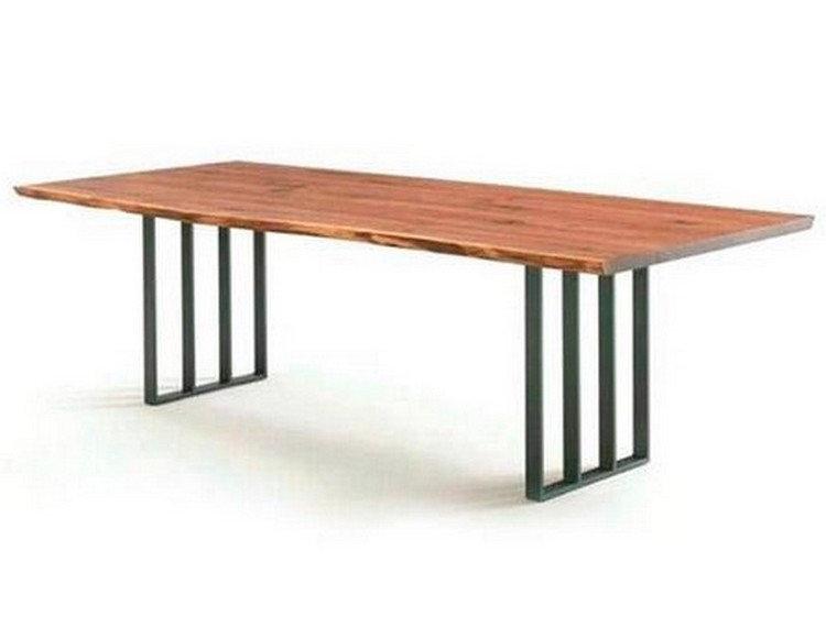 Стол в стиле Лофт на металлических ножках, фото 2