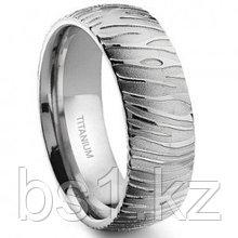 7 Degree TIGER Skin Titanium Band Ring