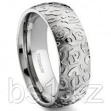7 Degree JAGUAR SKIN Titanium Band Ring