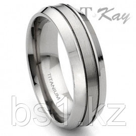 Titanium 7mm Wedding Band Ring