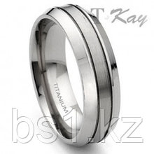 Titanium 7mm Wedding Band Ring