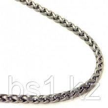 Titanium 4MM Wheat Link Necklace Chain