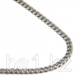 Titanium 4MM Curb Necklace Chain