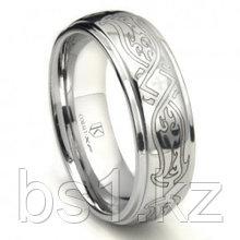 Cobalt XF Chrome 8MM Celtic Wedding Band Ring