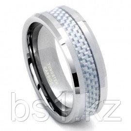 INGVAR Tungsten Carbide Carbon Fiber Ring