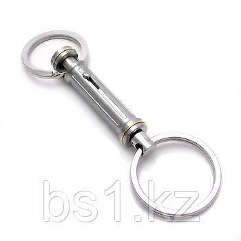 Dolan Bullock OLYMPUS 18K Gold Stainless Steel Key Ring