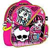 Рюкзак Monster High розовый с черепом