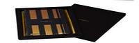 Блокнот Castelli, линейка в точку,13*21, цвет золотой/черный