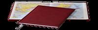 Ежедневник Tucson, не датированный + Атлас, белая бумага, 14,5*20,5, цвет бордо