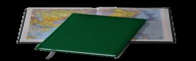 Ежедневник Tucson, не датированный + Атлас, белая бумага, 14,5*20,5, цвет зеленый