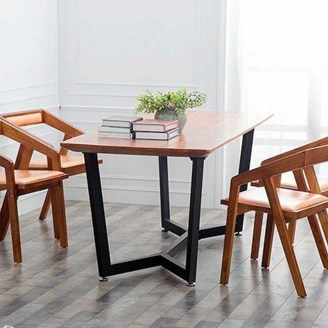 Стол на металлических ножках Лофт, фото 2