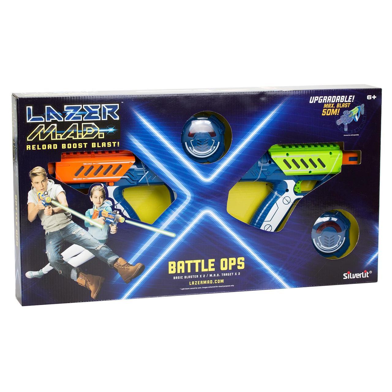 Лазерные Бластеры Lazer Mad Двойной набор 86845