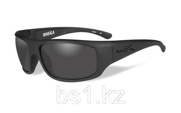 Очки стрелковые OMEGA GREY LENS/MATTE BLACK FRAME