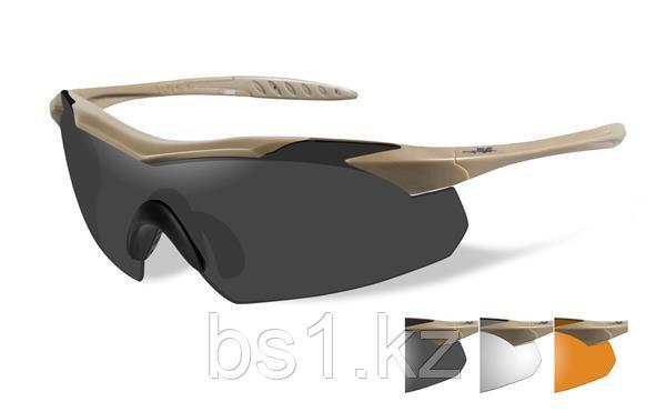 Очки солнцезащитные VAPOR GREY/CLEAR/RUST/TAN FRAME