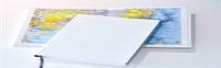 Ежедневник Santiago, не датированный + Атлас, белая бумага, 14,5*20,5, цвет Белый