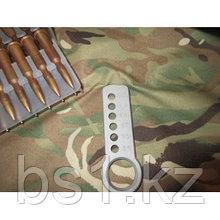 Плашка для проведения экспресс-отбора валовых патронов калибра 7.62х54R КАЛИБРОВОЧНАЯ ПЛАШКА БАКЛУША 7,62