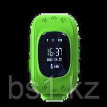 GPS часы, отслеживание детей Зеленый друг