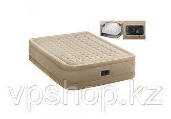 Матрас надувной, двуспальная надувная кровать 64458 с доставкой