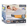 Матрас надувной, двуспальная надувная кровать с встроенным насосом Intex 67770 с доставкой, фото 4