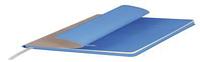 Ежедневник недатированный, Portobello Trend, River side, 145х210, 256 стр, Бежевый/Голубой