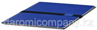 Блокнот Doppio, Синий/Серый