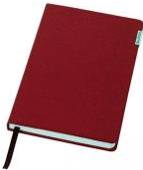 Эксклюзивный блокнот Balmain, В подарочной коробке, Красный