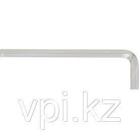 Ключ имбусовый,  HEX - шестигранный, закаленная сталь, никилиевое покрытие 9*115мм, Сибртех
